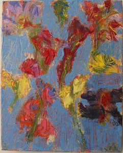 "Jim R Randall Artwork S.C. #10 8""x10"" oil on linen by Jim R. Randall"